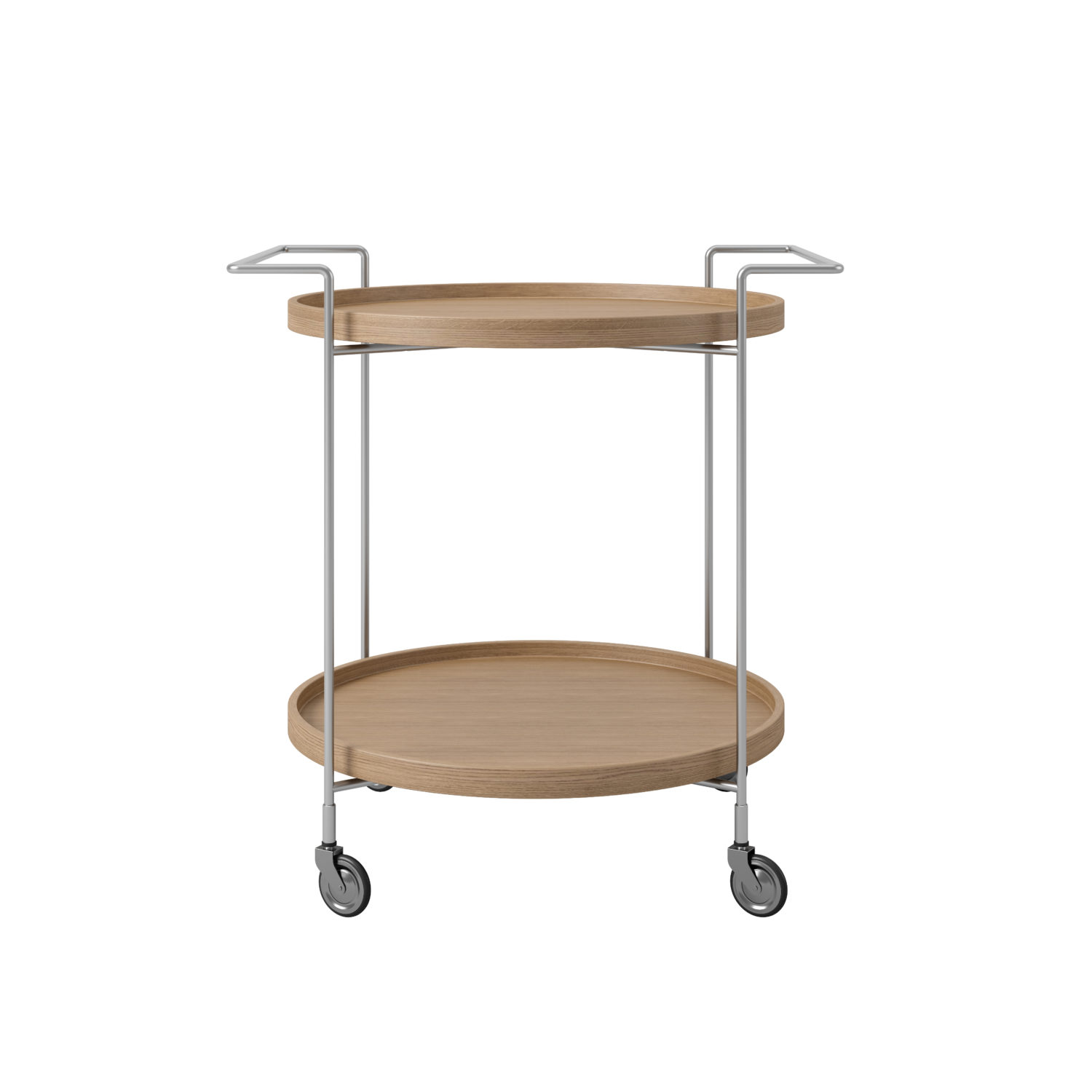 Trolley Natural Oak Front