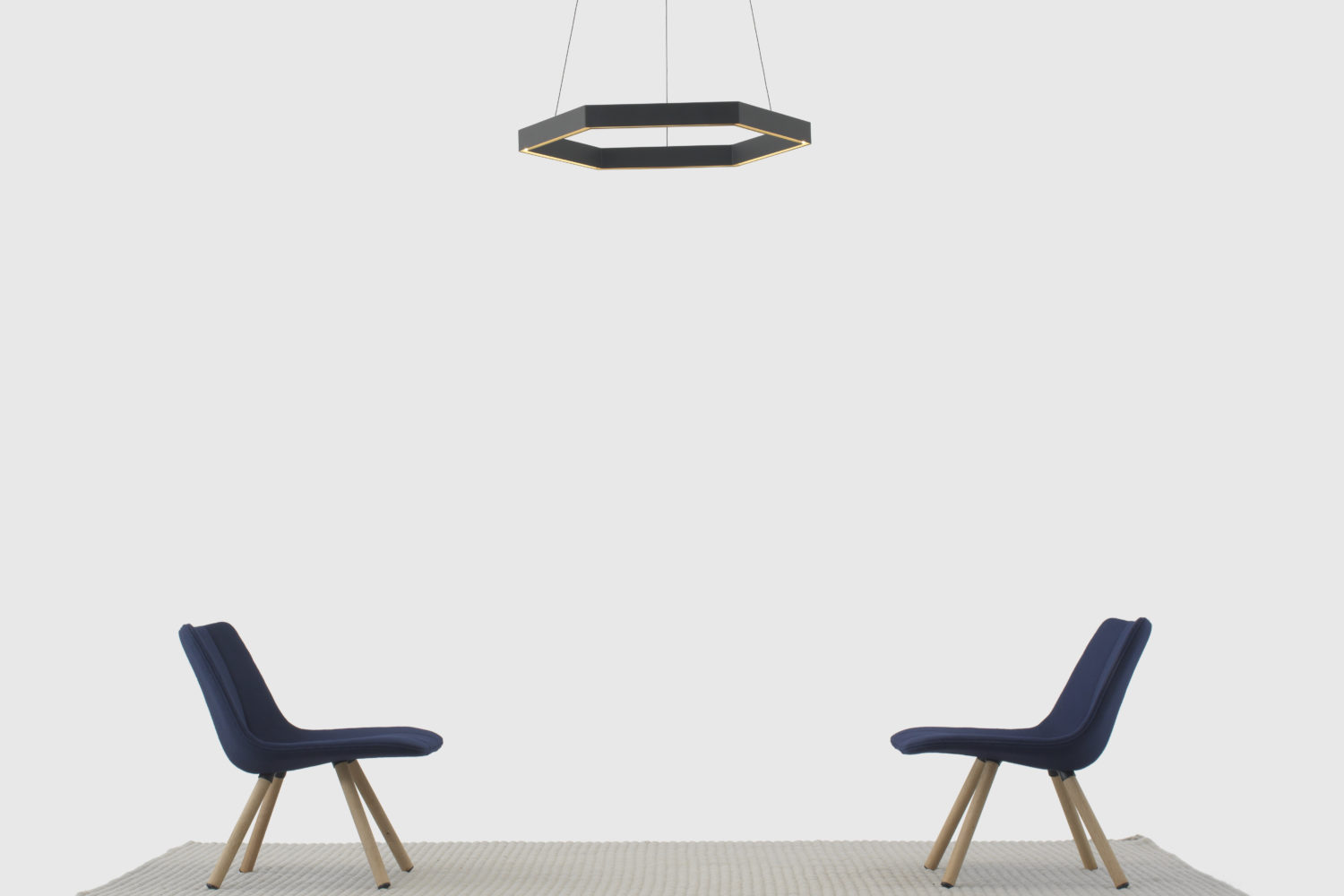 Resident Volley Chair And Hex Pendant